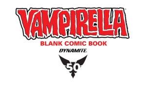 The Vampirella Blank Comic Book #1 is the Sexy Alien Vampire Monster Killer Story I've Been Waiting For