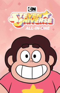 Steven Universe All in One Edition - KaBOOM! July 10, 2019 - Shoulders-up portrait of Steven smiling widely