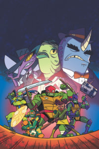 TMNT: Rise of the TMNT: Sound Off! #1 cover by Chad Thomas