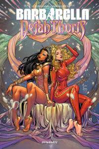 Cover for Barbarella/Dejah Thoris(TPG) Laura Braga (Cover),German Garcia (Art),Leah Williams (Writer) C 2019 Dynamite Comics
