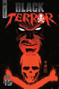 Cover of Black Terror #1, C October 2019 Dynamite Comics