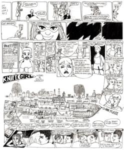 Knife Girl comic