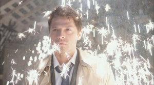 "Castiel image from Supernatural 4x01 ""Lazarus Rising,"" Warner Bros."