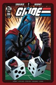 G.I. Joe: Real American Hero #266. IDW Publishing