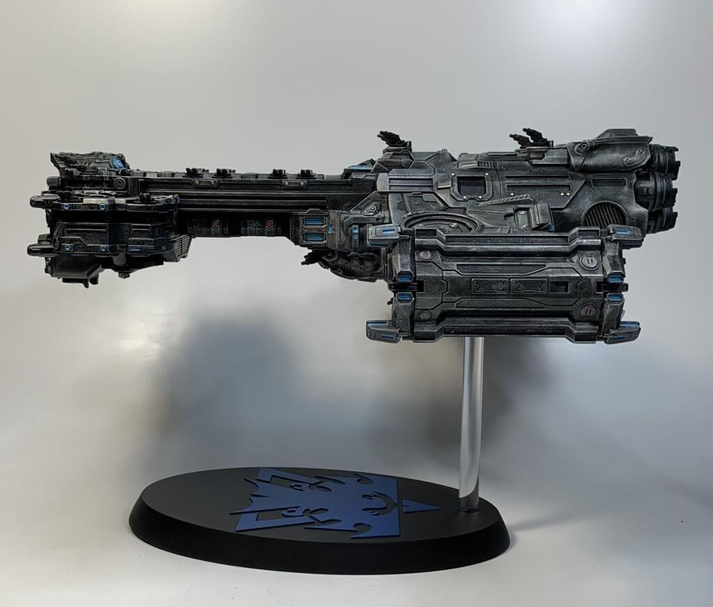 Spaceship from Starcraft
