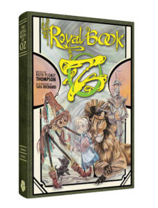Cover of the Royal Book of Oz featuring Dorothy, the Lion, Tin Man, and Scarecrow