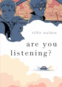 Cover artwork for 'are you listening' by Tillie Walden