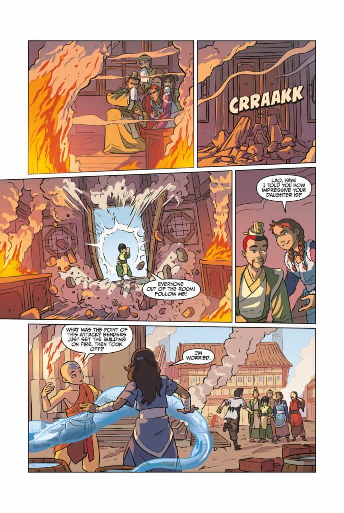 Avatar: The Last Airbender - Imbalance Part 3 (Dark Horse Comics, 2019)