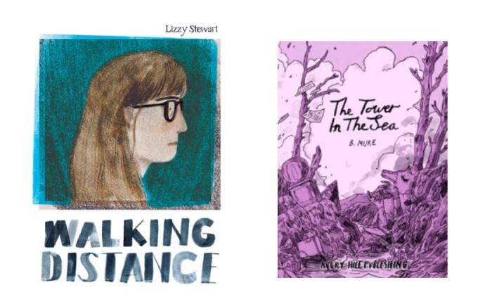 Walking Distance by Lizzy Stewart and The Tower in the Sea by B. Mure, Avery Hill Publishing (October 2019)