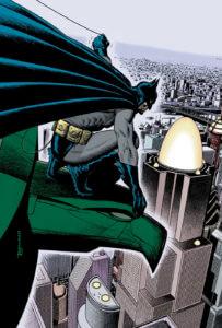 Batman on a Gargoyle