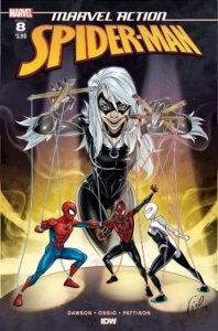 Marvel Action Spider-Man #8-Fico Ossio