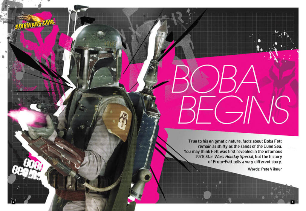 Star Wars Insider: Rogues, Scoundrels, and Bounty Hunters Pages 6-11. Titan Comics 25 September, 2019