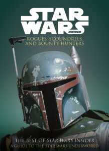 Star Wars Insider: Rogues, Scoundrels, and Bounty Hunters Cover. Titan Comics 25 September, 2019