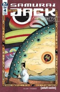 Samurai Jack - Lost Worlds #4. IDW Publishing. September 2019.
