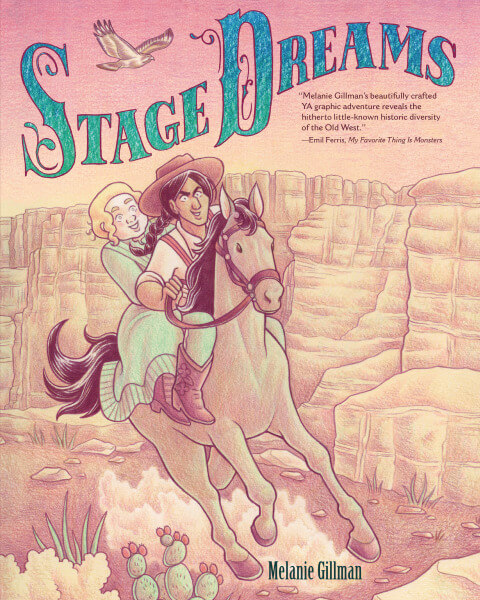 Stage Dreams Cover by Mel Gillman image via Lerner Books