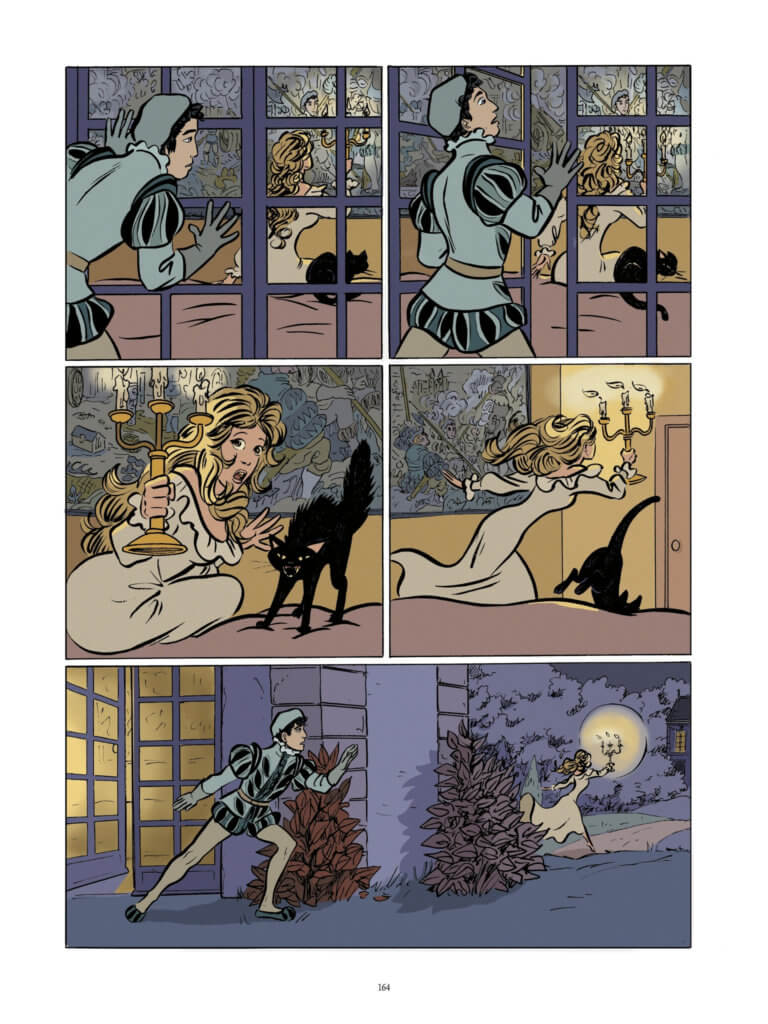 The Princess of Clèves Page 164. Claire Bouilhac. Catel Muller. Dargaud (French), Europe Comics (English) 18 September, 2019