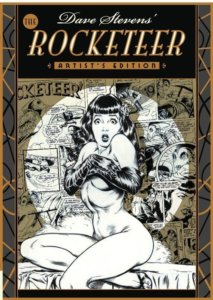 Cover for the Artist's Edition of Dave Steven's Rocketeer Series