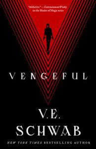 Cover of Vengeful by V. E. Schwab