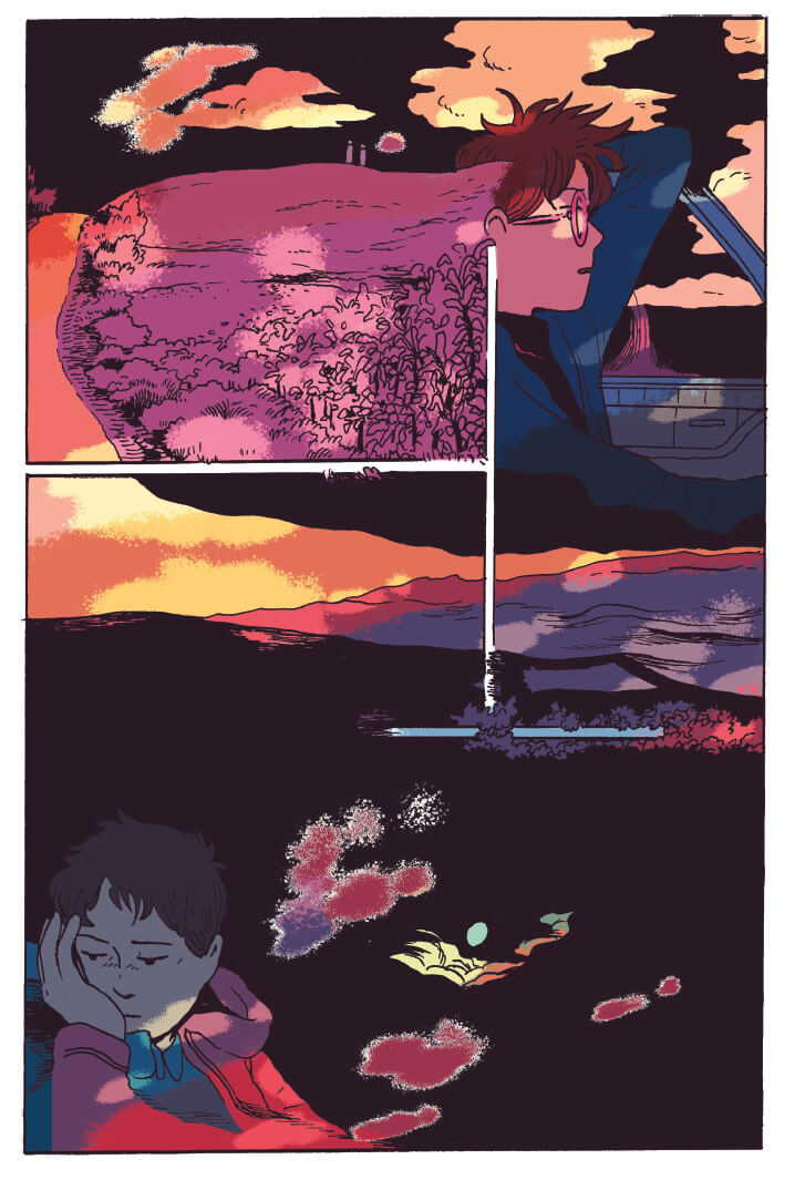 A page from Tillie Walden's 'Are You Listening?'
