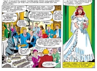 The Wedding Issue: Patsy Walker and Daimon Hellstrom