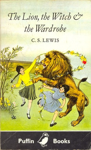 The Lion, the Witch and the Wardrobe cover, Puffin Books