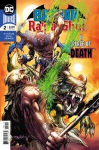 Cover for Batman vs Ra's al Ghul #2 - Neal Adams (art, cover, and writer), Clem Robbins (letters) - Batman facing Ra's Al Ghul