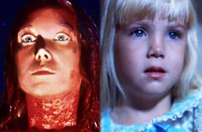 Carrie and Poltergeist