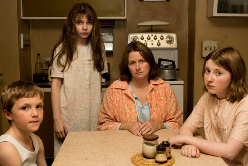 The Hodgson family in The Enfield Haunting