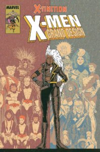 X-Men: Grand Design by Ed Piskor (Marvel Comics, May 2019) cover featuring Storm
