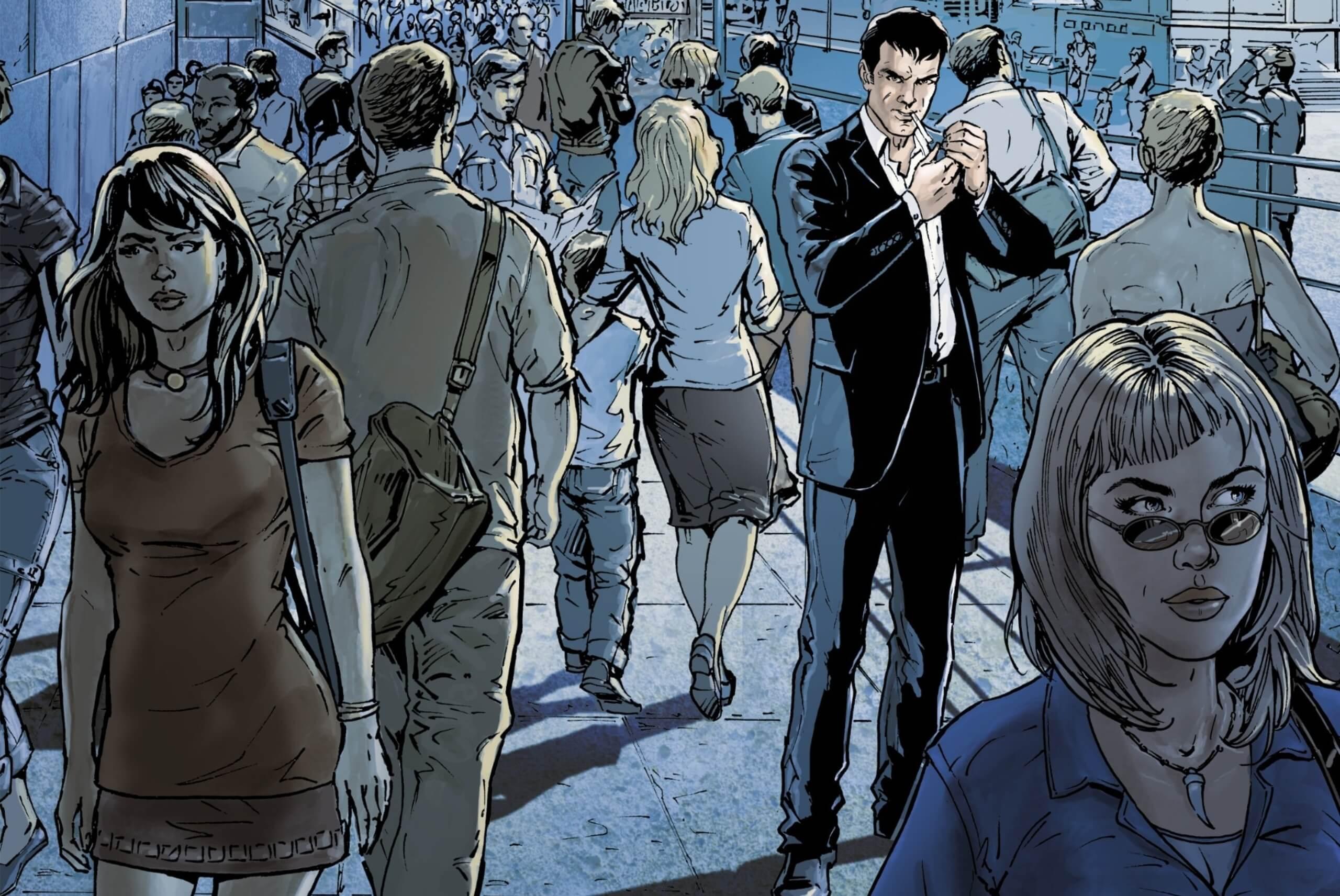 One Volume 1: Just One Breath Cover. Sylvain Cordurié and Živorad Radivojević. Europe Comics. October 2019.