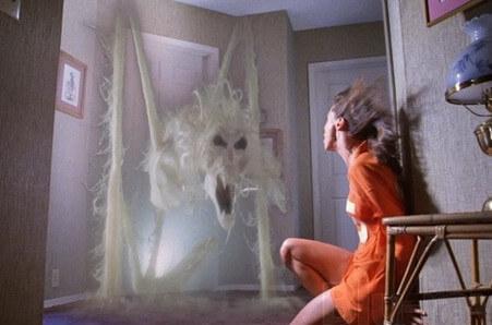 Poltergeist still showing the ghost