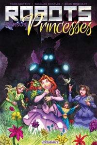 Cover for Robots vs Princesses TP C 2019 Dynamite Comics