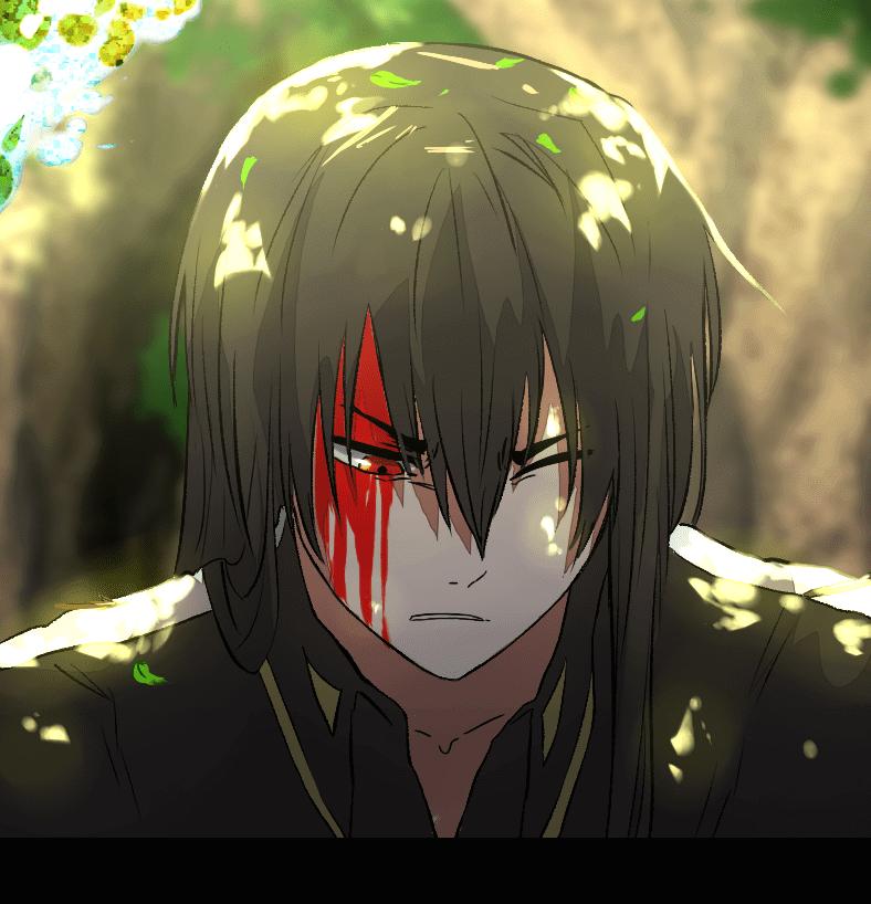 Deor bloodied, Deor by J.oori, Webtoon, 2019