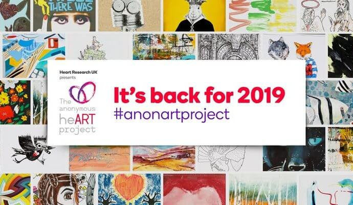 The Anonymous heART Project Touches and Teaches Hearts Through Art