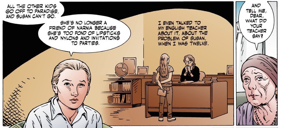 The Problem of Susan, from the Problem of Susan and Other Stores, P. Crag Russel and Neil Gaiman, Dark Horse, 2019
