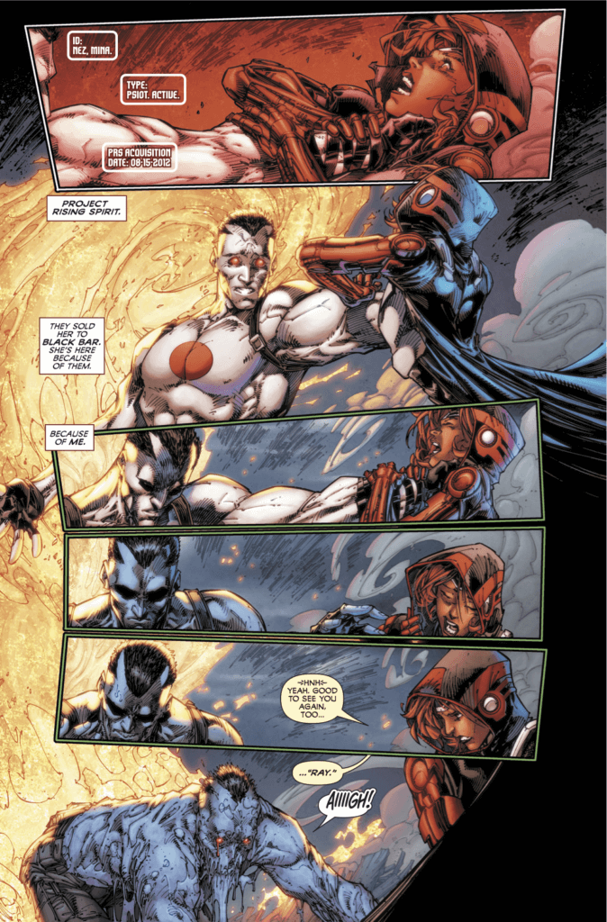 pages from Bloodshot #3 (Valiant Entertainment, November 20, 2019)