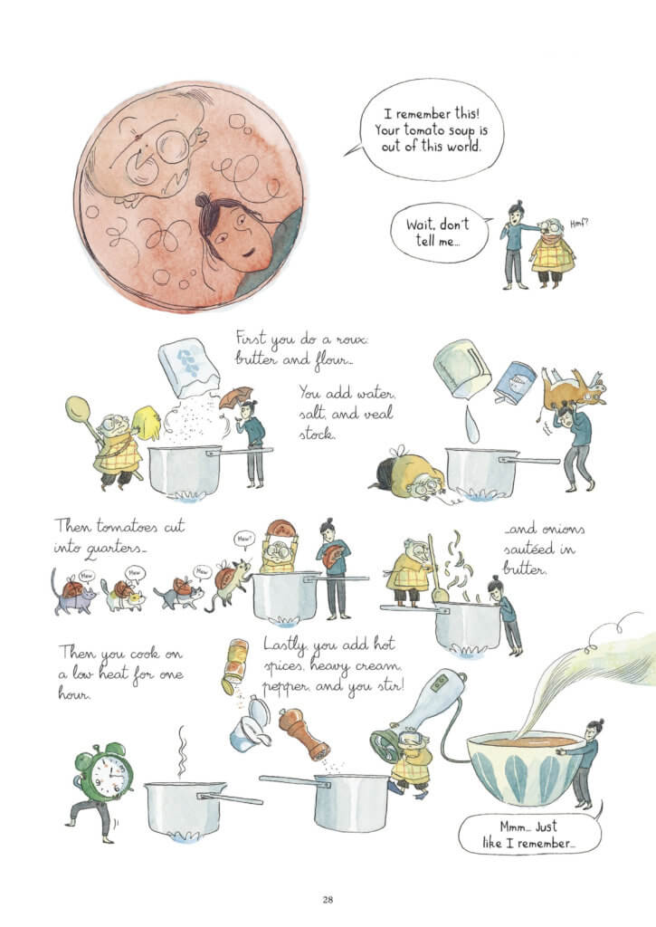 Days of Sugar and Spice Page 28. Loïc Clément and Anne Montel, Europe Comics. November 2019.