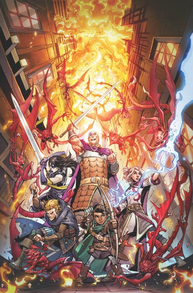 Dungeons and Dragons: Infernal Tides #1. IDW Publishing