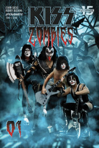 Photo Cover for Kiss Zombies #2 C Dynamite Comics 2020