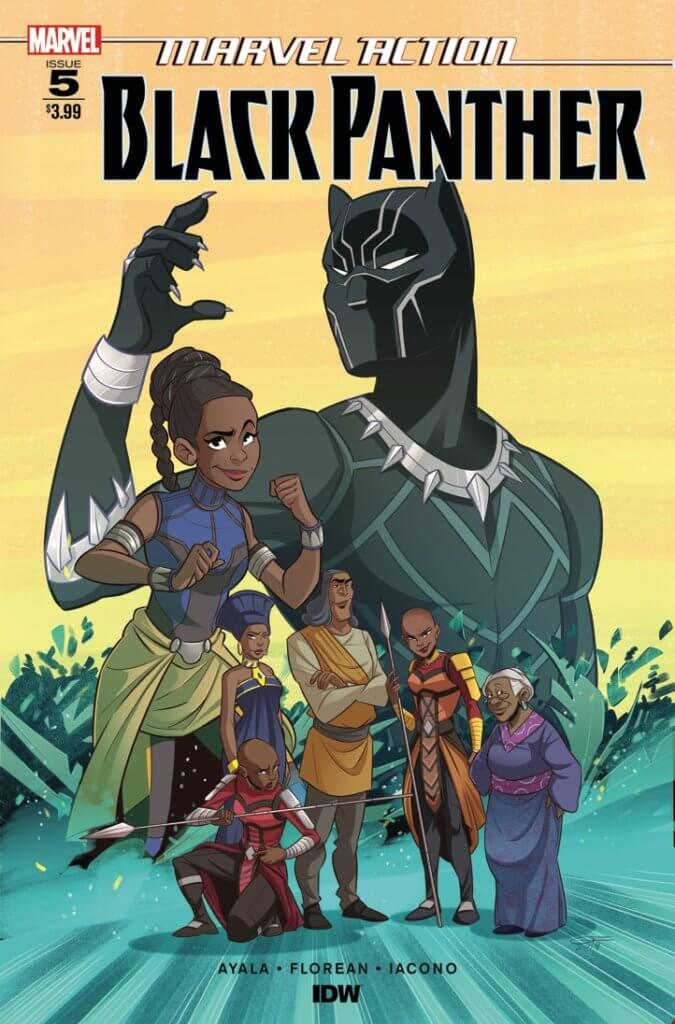 Marvel Action - Black Panther #5. IDW Publishing