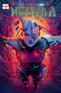 Cover for Nebula #1 from Marvel, art by Jen Bartell, out in Feb 202
