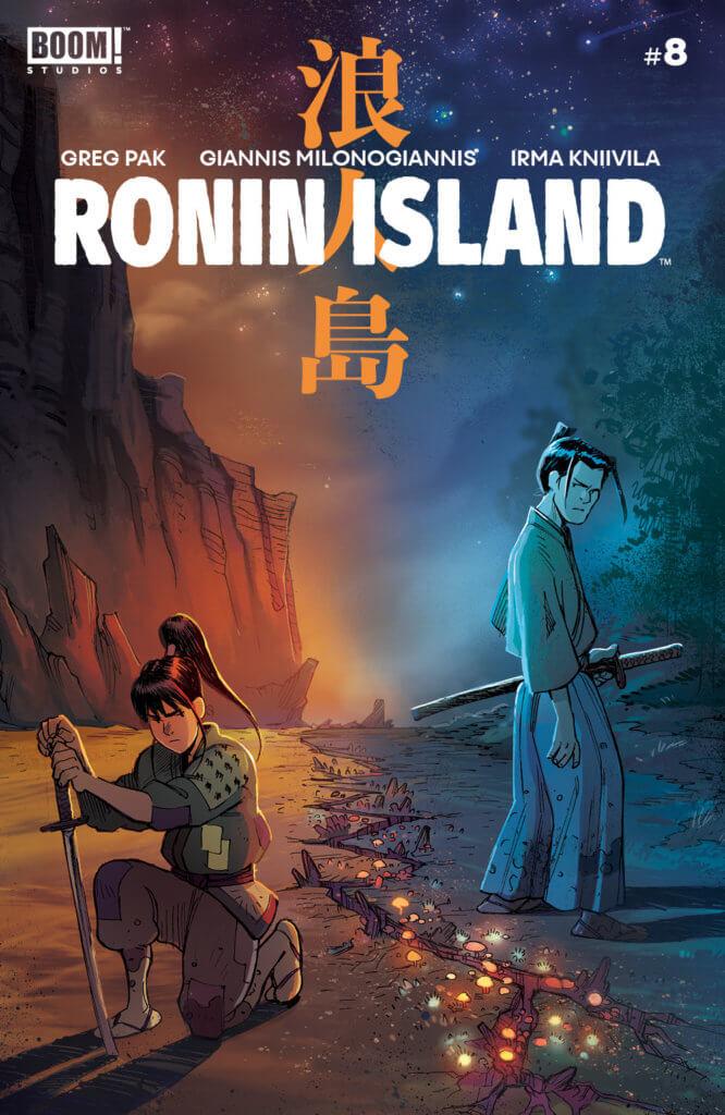 Ronin Island #8, Giannis Milonogiannis, BOOM Studios, 2019