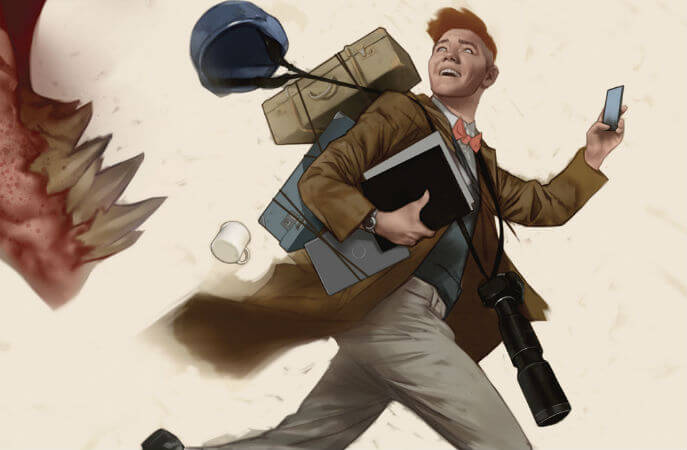 Cropped cover image to Superman's Pal, Jimmy Olsen by Ben Oliver, DC Comics, 2019