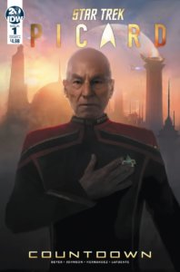 Star Trek - Picard—Countdown #1. IDW Publishing.