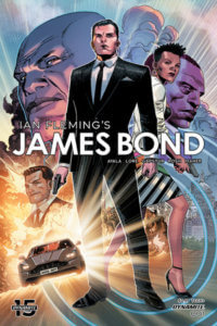 The Cover of Ian Flemming's James Bond Vol 3 Number 1 C Dynamite Comics 2020