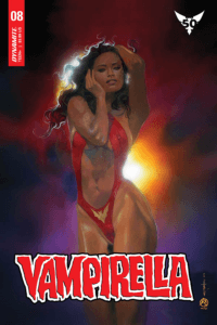 Beachum Cover for Vampirella 8