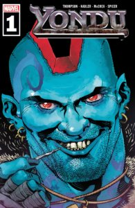 Cover art for Yondu #1, Marvel, Nov 2019, art by Cully Hamner