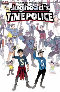 Derek Charm Cover for Jughead's Time Police #5 C Archie Comics