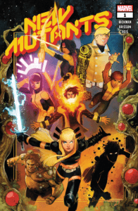 New Mutants 1 Cover by Rod Reis
