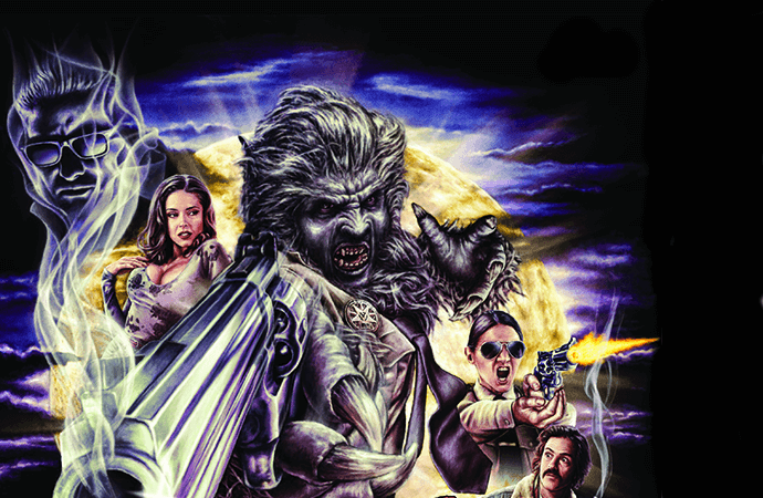 Cover of Wolf Cop TPG C Dynamite Comics 2019
